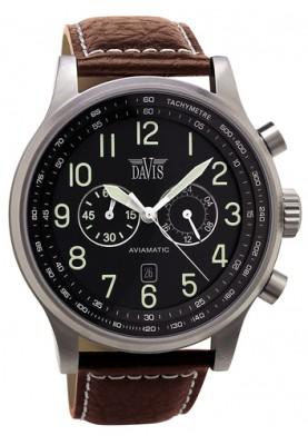 Aviamatic Watch Brn/Blk - 85498