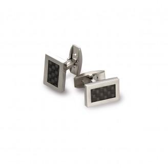 Boccia titanium manchetknopen - 91287
