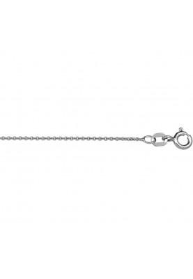 Zilver anker collier - 84317