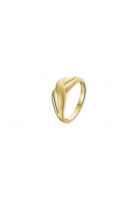 14krt geelgouden damesring - 87334