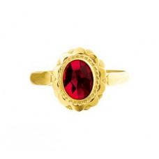 14 krt gouden ring - 86175
