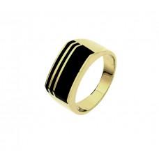 Geelgoud ringen dwar - 87009