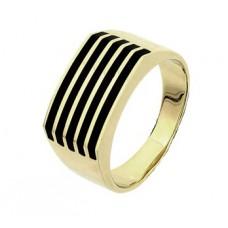 Geelgoud ringen dwar - 85673