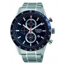 PULSAR HEREN CHRONO STAAL BAND PF8439X1 - 89614