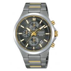 Heren chrono titanium grijs 100m wr - 89098