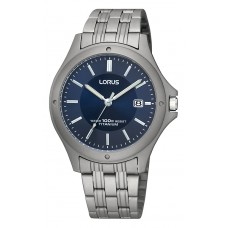 LORUS HEREN TITANIUM BLAUW - 89522