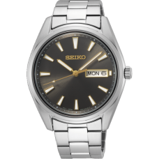 SEIKO HEREN NEW LINK STAAL - 93233